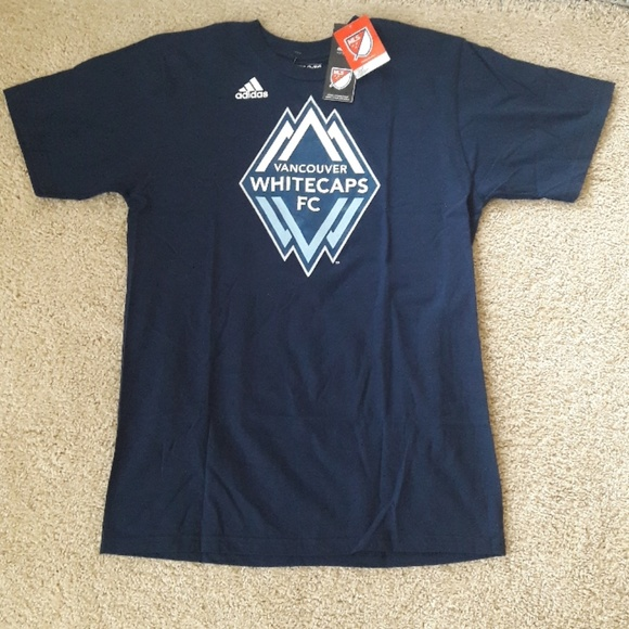 the best attitude 9ca95 7d53f VANCOUVER WHITECAPS FC SOCCER T-SHIRT NWT